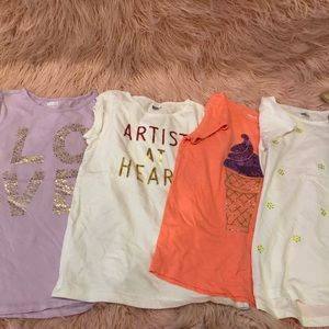 Lot of girls tops